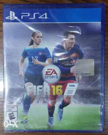 "fifa 16 for Playstation ""4"" ^-^ جديده"