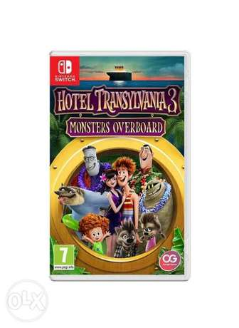 Hotel Transylvania 3 Monsters Overboard (New!)