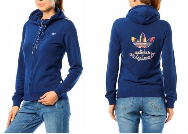 Bluza Adidas Originals z kapturem na zamek S 36 Oryginalna