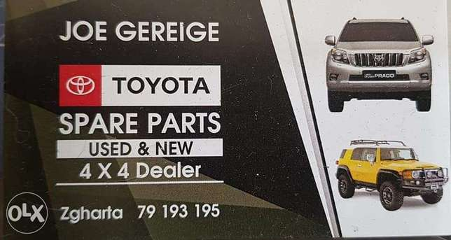 Toyota Spare Parts