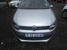 A Polo 1.6, 2013 model, 17000km, sliver in color, 4-door.