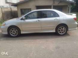 Toyota Corolla Sport going for cheap