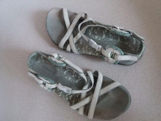 Sandały MERRELL r. 36r.37 sandałki skórzane, skóra