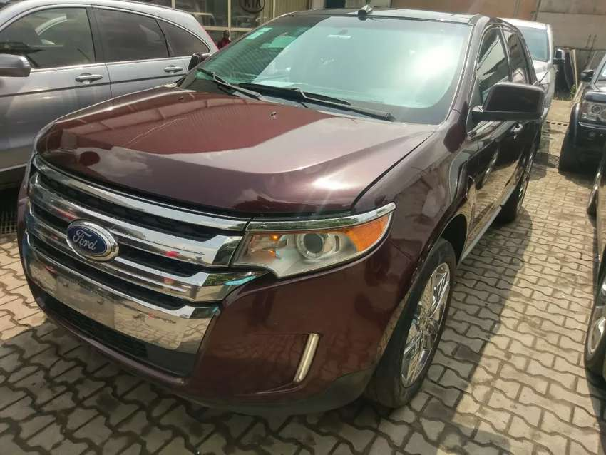 Super Clean Brown Ford Edge  Tokunbo For Sale Cheap