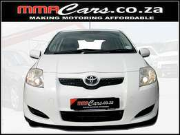 2008 TOYOTA AURIS 1.6 RT R109,890.00