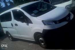 Nissan Vanette manual and Auto NV200 New shape 2010 only 950k