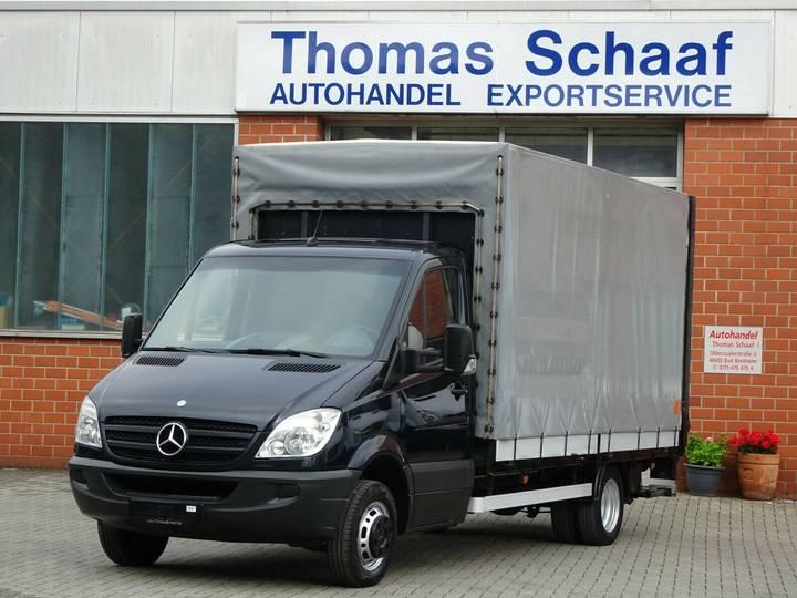 Mercedes-Benz Sprinter 515 Cdi Pritsche + Plane Maxi LBW 3.5 T - 2009