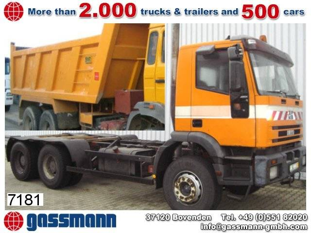 Iveco 260eh 34 6x4 efh./umweltplakette rot - 1994