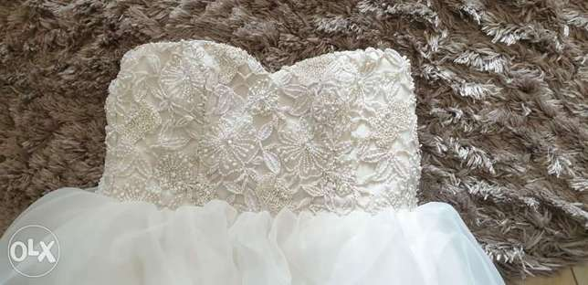 Wedding dress for sale size s