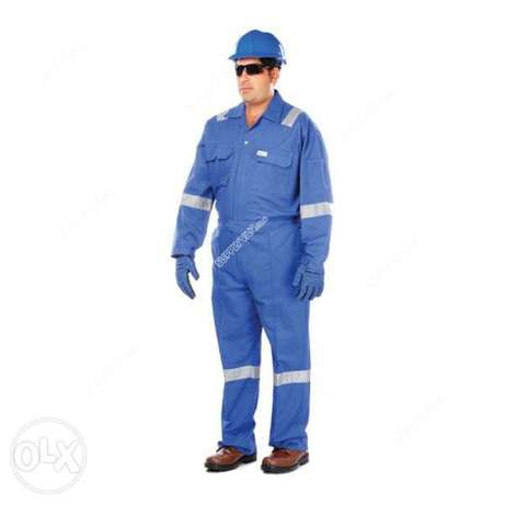 100% coTTon COvErALl wiTH rEFlecTIVE sTrIPEs-260 gsM