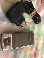 Samsung Phone and Charger