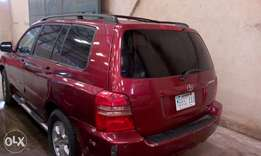 FirstBody!!! Toyota Highlander 2003 model