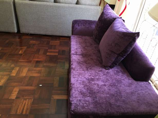 Divan; Classic; 3seater; royal purple; elegant; unisex; as new. Kyuna - image 5