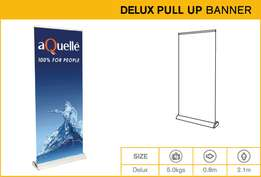 pull up banners, roll up banners, wall banners, gazebos, hanging banne