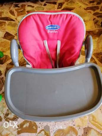 High chair baby love multiple functions and adjustable, very strong