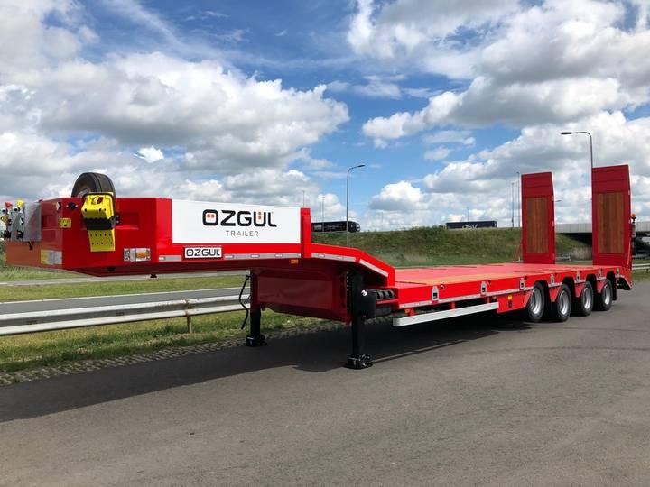 Ozgul LW4 70T 4 axle lowbed semi trailer, hydraulic ramps (300) - 2019