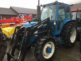 Ford 7610 4wd 1984 Fitted With Front Loader Dynashift