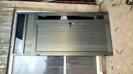 I make aluminum windows and doors