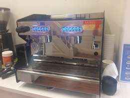 Diamond 2 group commercial coffee machine