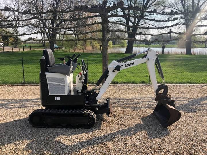 Bobcat E10 Minigraver / Mini Graver - 2012