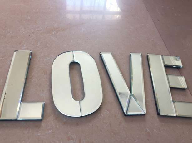LOVE letters for wall decor Mnazi moja - image 5
