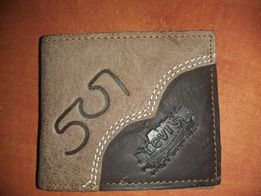 e894c54f9dbd0 Skórzany portfel Levis nowy