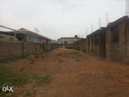 Uncompleted 2 units of 3 bedroom flat FOR SALE on one and half plot