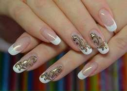Manicure nails an. Hair care