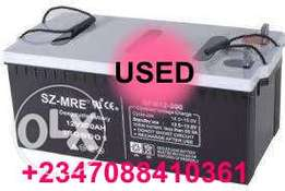 Used inverter battery ikate Lekki