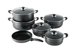 Black Non Stick Sufurias now available.