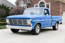 Ford f100 engines