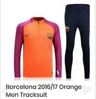 Brand new Barcelona orange tracksuit