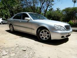 Mercedes Benz S320 , Silver, Year 2000, 3200cc V6, Automatic