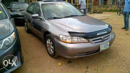 Clean Registered Honda Accord Baby Boy 1999