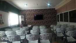 Halls for rent in wuse 2