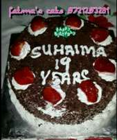 fresh cakes available order urs