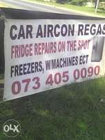 winter specials on fridge repairs