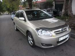 2005 Gold Toyota Runx 1.4 RT Hatch full house for sale