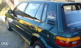 Toyota Tazz 130 in excellent condition