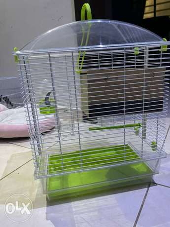 Bird cage for sale, The new price is 250 SAR
