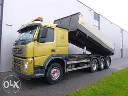 Volvo Fm460 8x4 Tridem 2 Way Tipper Euro 3 - For Import
