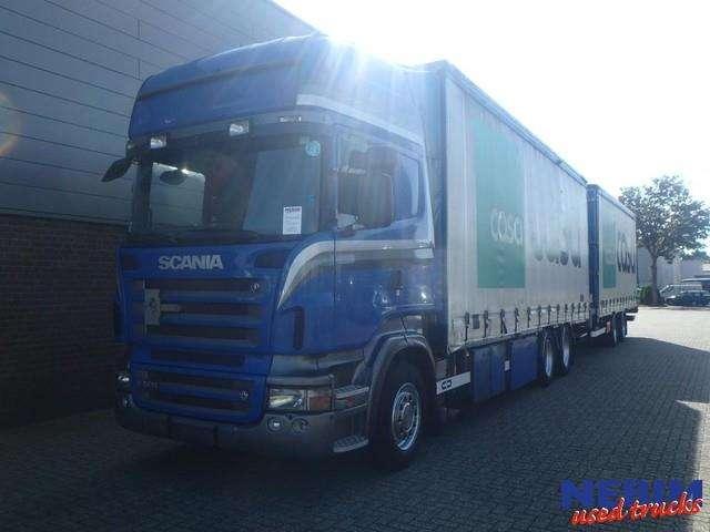 Scania R500 V8 Euro 5 Retarder + Trailer - 2007