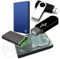 Data Recovery from Harddisk or Flashdisk