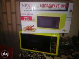 Microwave and Grill