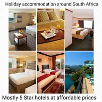 The best rates for hotels or resorts in the Country and abroad