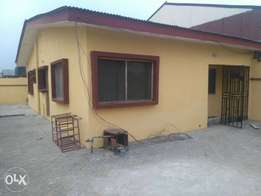 Renovated 3bedroom detached bungalow at Abraham Adesanya Estate
