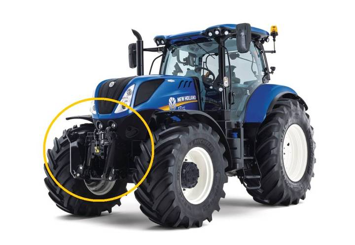 New Holland Front Pto
