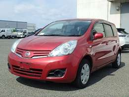 On sale: Nissan note