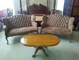 2 x Antique Victorian couches for sale