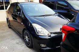 Toyota Wish 2010 Limited Edition with low profile rims & bodykit